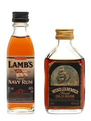 Lamb's Navy & Windjammer Finest Rum
