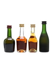 Assorted Cognac Miniatures Hennessy, Courvoisier, Martell, Remy Martin 3cl, 4.15cl, 2 x 5cl / 40%