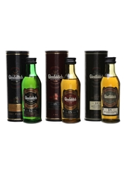 Glenfiddich 12, 15 & 18 Year Old