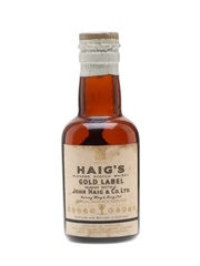Haig's Gold Label Spring Cap