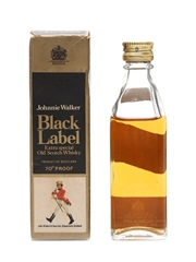 Johnnie Walker Black Label Bottled 1970s 5cl / 40%