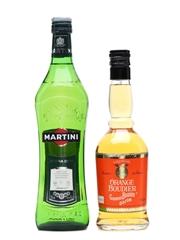 Martini Extra Dry & Gabriel Boudier Orange Liqueur 70cl & 50cl
