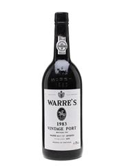 Warre's 1983 Vintage Port