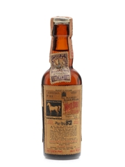 White Horse Bottled 1950s - Brown Vintners Company 5cl / 43.4%
