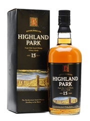 Highland Park 15 Years Old Old Presentation 70cl