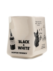 Black & White Water Jug Number 7 In A Series Of 8 Large