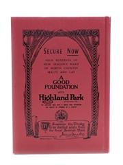 Highland Park A Good Foundation Ian Buxton