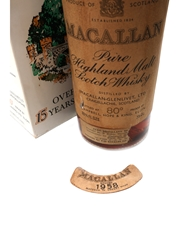 Macallan 1958 Campbell, Hope & King Bottled 1970s 75cl / 46%