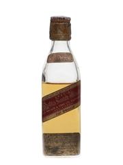 Johnnie Walker Red Label Bottled 1930s 5cl / 40%