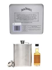 Jack Daniel's Miniature & Hipflask Set  5cl / 40%