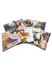 Ten Issues of Whisky Magazine Issues 51 to 60
