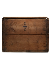 R.A.S.C SUPS Wooden Empty Crate Box