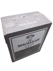 Macallan 10 Year Old Case of Six Fine Oak 6 x 70cl / 40%