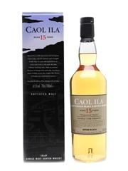 Caol Ila 15 Year Old Bottled 2016 70cl / 61.5%