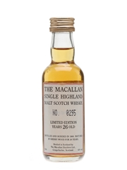 Macallan 1966 26 Year Old 5cl / 43%