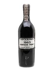 Cockburn's 1963 Vintage Port