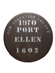 Port Ellen 1970 Cask End Number 1602