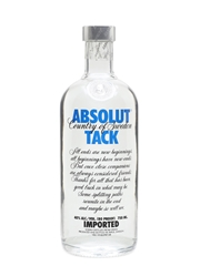 Absolut Tack Bottled 2008 75cl / 40%