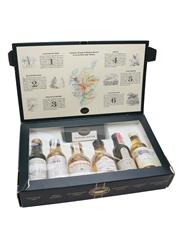 Classic Malts Miniatures Set Talisker, Oban, Glenkinchie, Dalwhinnie, Lagavulin (White Horse), Cragganmore 6 x 5cl