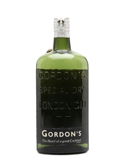 Gordon's Gin Spring Cap Bottled 1950 75cl