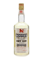 Booth's London Dry Gin Bottled 1958 75cl / 40%