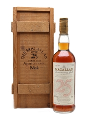 Macallan 1964 Anniversary Malt 25 Year Old 75cl / 43%