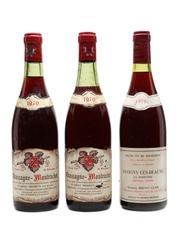 Chassagne Montrachet 1970 & Savigny Les Beaune 1979