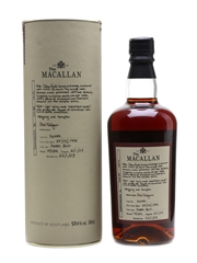 Macallan 1990 Cask Strength Exceptional Single Cask IV 50cl / 57.4%