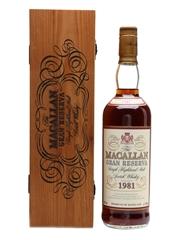 Macallan 1981 Gran Reserva