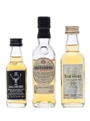 3 x Single Malt Scotch Whisky Miniatures