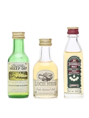 3 x Single Malt Whisky Miniatures