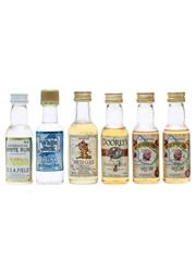 6 x Assorted Rum Miniatures