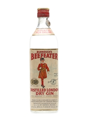 Beefeater Dry Gin Bottled 1950s - Silva 75cl / 47%