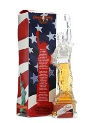 1 x William Fonbelle Bourbon Statue Of Liberty 10cl Miniature / 40%