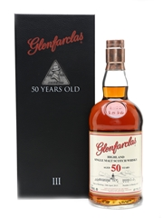 Glenfarclas 50 Year Old Family Collector III - Signed By John LS Grant 70cl / 41.1%
