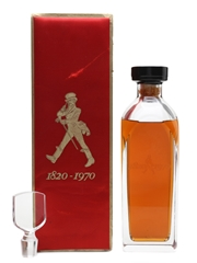 Johnnie Walker 1820-1970 150th Anniversary Private Bottling 75cl