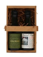 2 x Somerset Cider Brandy Miniatures