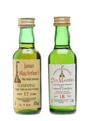 Ardmore 18 Year Old & Glenfoyle 17 Year Old