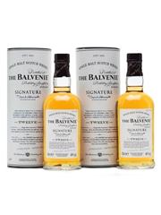 2 x Balvenie 12 Years Old Signature Batch 002 2 x 20cl