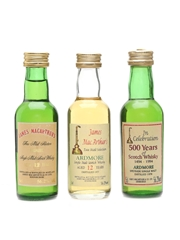 Ardmore 1978, 1977 & 12 Year Old