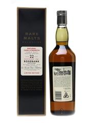 Rosebank 1981 22 Year Old Bottled 2004 - Rare Malts Selection 70cl / 61.1%