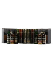 2 x Glenfiddich Set 12-15-18 Years Old Miniatures