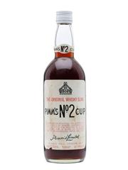 Pimm's No.2 Cup The Original Whisky Sling Bottled 1970s / 75cl  / 31.4%