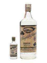 Sauza Tequila Bottled 1960s - Pedro Domecq 5cl & 75cl