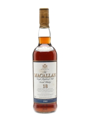 Macallan 1985 And Older