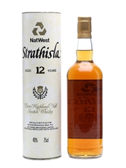 Strathisla 12 Years Old NatWest For National Westminster Bank PLC 75cl