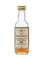 Macallan 1966 Bottled 1985 Miniature