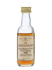 Macallan 1967 Bottled 1985 Miniature