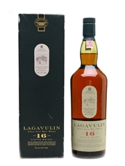 Lagavulin 16 Year Old Bottled 1990s - White Horse Distillers 100cl / 43%