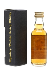 Clynelish 1965 28 Year Old - Signatory Vintage 5cl / 50.7%